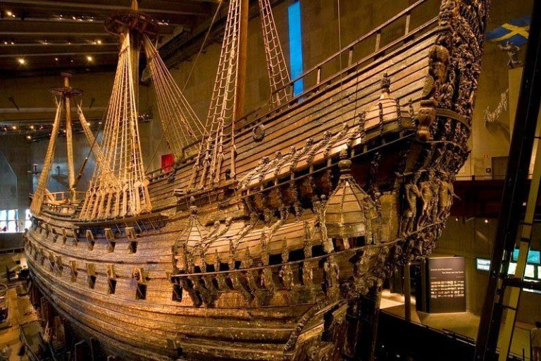 El Museo Vasa de Estocolmo, la apasionante historia de un navío
