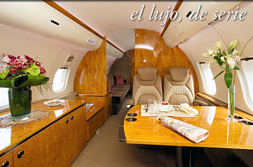 Viajar en jet privado